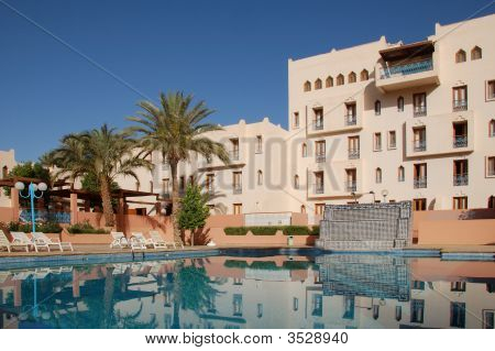 Swimming Pool In A Hotel Morocco