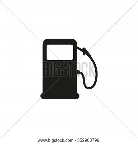 Refueling Vector Icon. Refueling Sign On White Background. Refueling Icon For Web And App