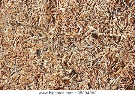 Wooden Chips Background