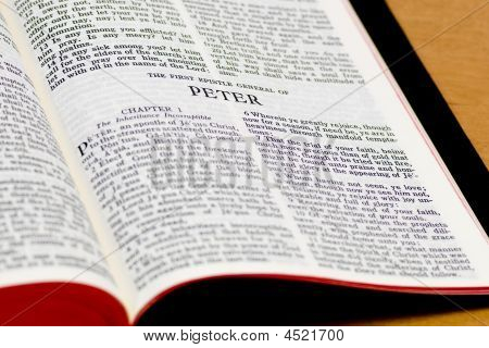 Bible Page - Peter