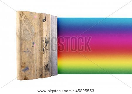 Photo of Colored silk screen