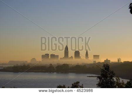Cleveland Morning Fog