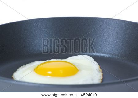 Egg In Frying Pan