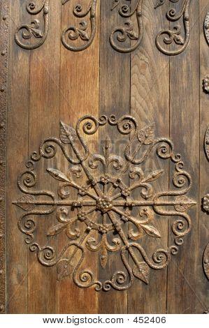 Ornamented Door