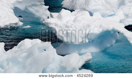 Antarctic Eisbildung