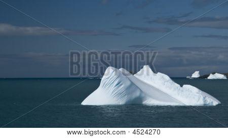 Antarktis Eisberg glatt