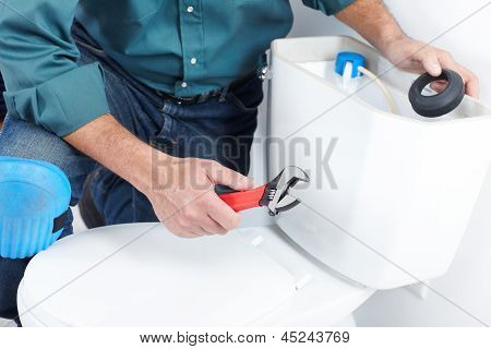 The Worker With A Plunger