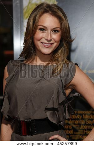 LOS ANGELES - FEB 1: Alexa Vega arrives at the premiere of 'Dear John' held at the Grauman's Chinese Theater in Los Angeles, California on February 1, 2010