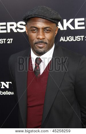 LOS ANGELES - AUG 4: Idris Elba at the World Premiere of Takers, held at the Arclight Cinerama Dome in Los Angeles, California on 4 August 2010