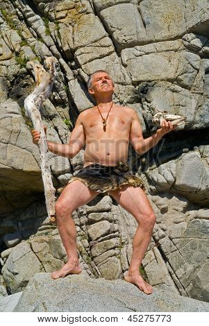 Man With Cudgel