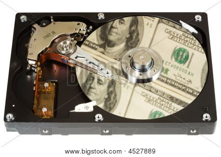 Hard Disk, Dollars, One