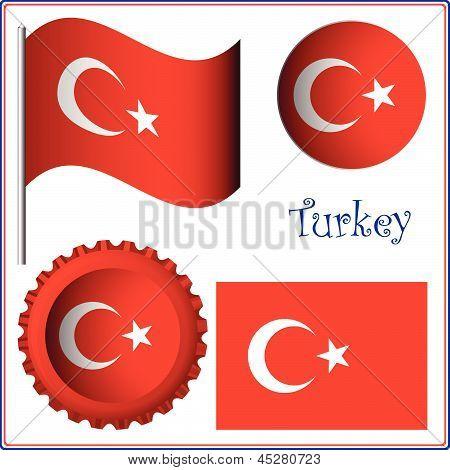Turkey Graphic Set