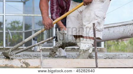 Cement Pour