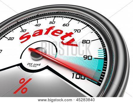 Safety Concept Meter Hundred
