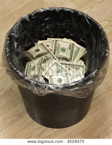 Bucket, Dollars, Two