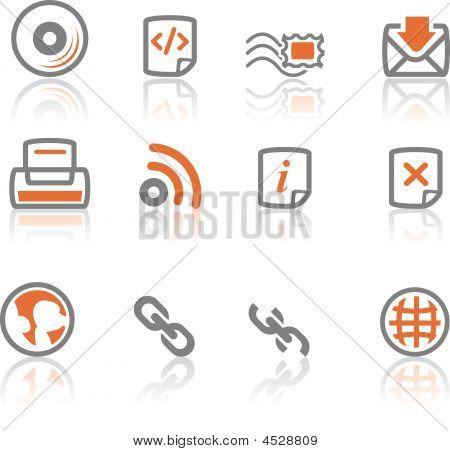 Ireflect Set   Web And Internet Icons