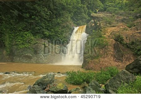 Salto Baiguate Waterfall, Jarabacoa, Dominican Republic