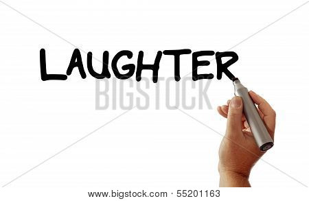 Laughter Hand Marker