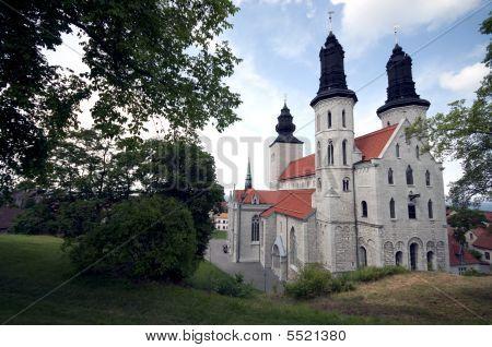 Church In Visby Sweden