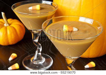 Fall Carmel Pudding