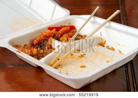 Leftover Chinese Food