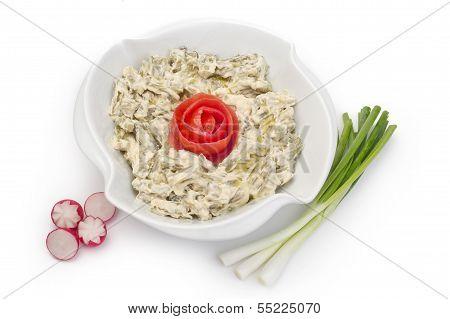 Mtabbal, Lebanese food