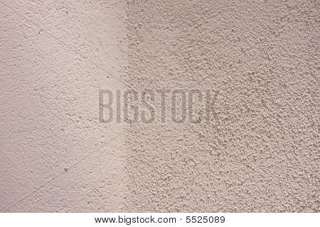 Pink Stucco Wall