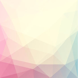 Abstract triangle art in pastel colors - eps10