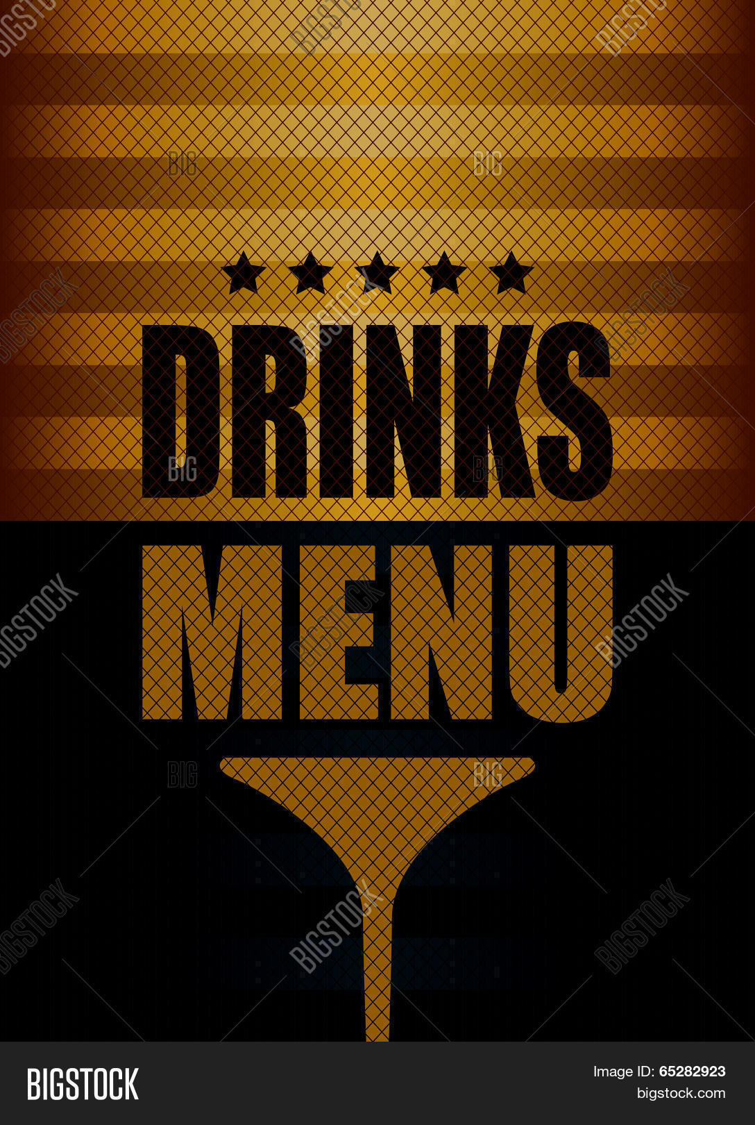 drinks menu vector & photo (free trial) | bigstock