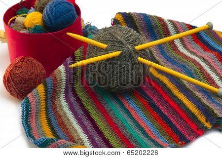 Knitting, Threads