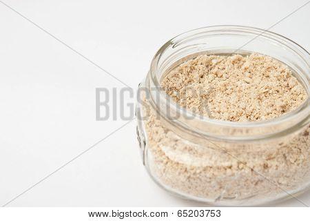 Homemade oatmeal bath product
