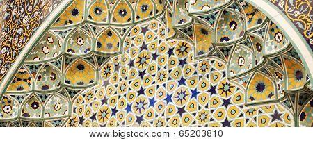 Islamic motif background