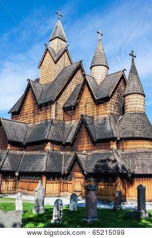 Stave Church Heddal, Norway