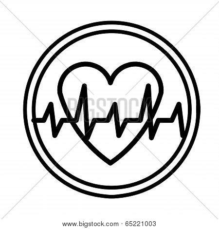 Heartbeat Symbol Vector.eps