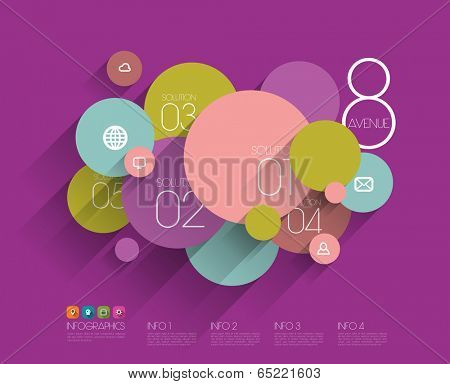 Vector Flat Graphic Design Template