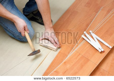 Laying Laminate Floor