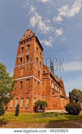 St. Stanislaus Church (1521) In Swiecie Town, Poland.