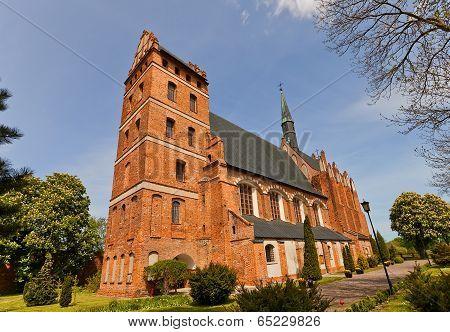 St. Stanislaus Church (1521) In Swiecie Town, Poland
