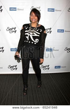 LOS ANGELES - MAY 16:  Raven-Symone at the UCLA's Spring Sing 2014 at Pauley Pavilion UCLA on May 16, 2014 in Westwood, CA