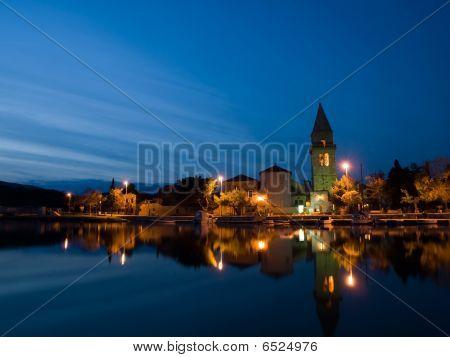 Small Mediterranean Town