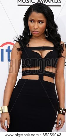 LAS VEGAS - MAY 18:  Nicki Minaj at the 2014 Billboard Awards at MGM Grand Garden Arena on May 18, 2014 in Las Vegas, NV