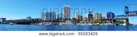 Tacoma Downtown  Panoramic View