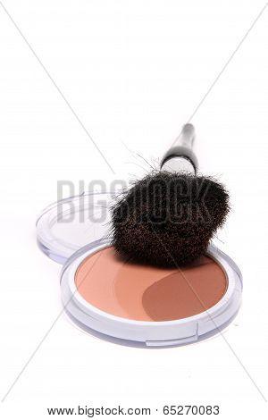 Bronzer And Brush