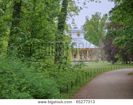 Tea House In Park Sanssouci In Potsdam