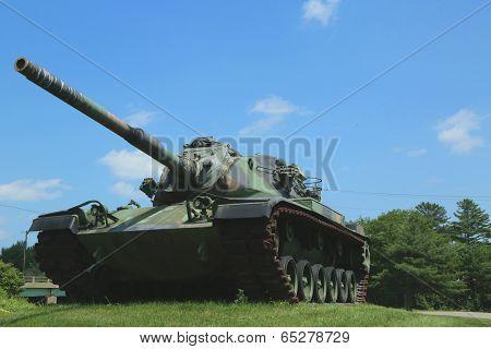 M-60 tank at  Vietnam War Memorial