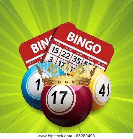 Bingo King And Cards