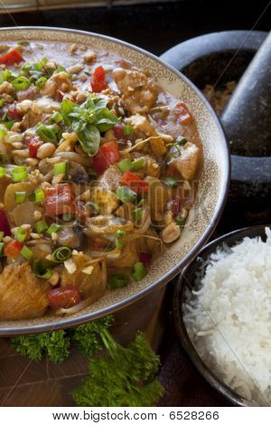 Spicy Thai Curry Bowl