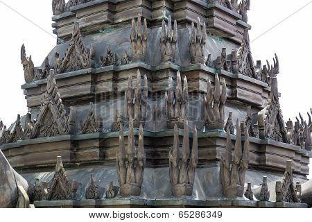 Loha Prasat (Metal Castle) at Wat Ratchanaddaram
