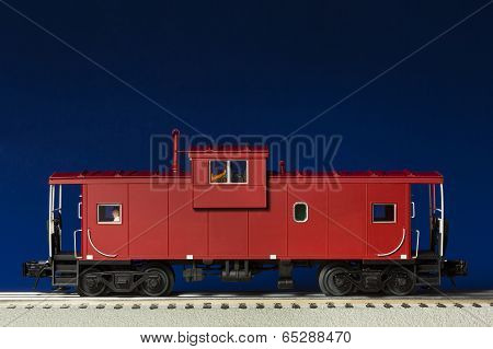 Red Caboose Model