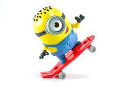 Carl Rocket Minion Mcdonalds Happy Meal Toy